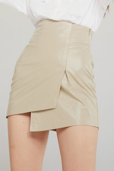 storets.com Sadie Asymmetric Wrapped Skirt