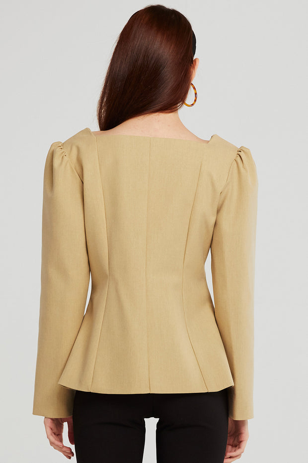 storets.com Sarah Square Neck Jacket