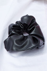 Pleather Scrunchie