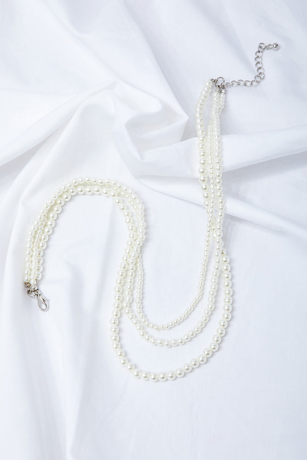 storets.com Pearl Layered Necklace