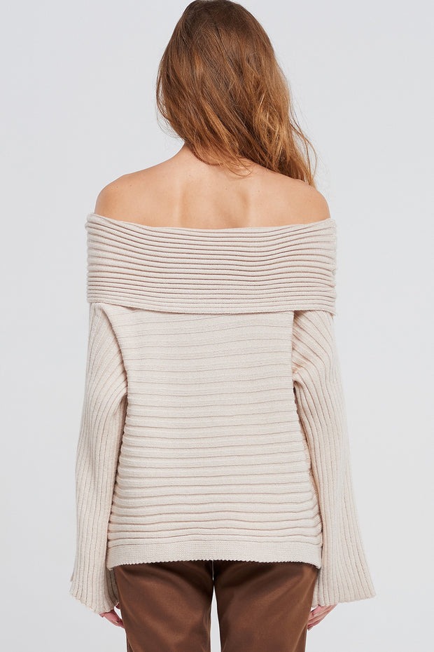 Ryan Off Shoulder Pullover