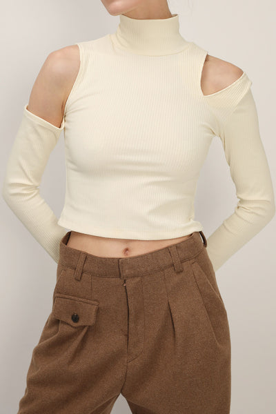 Elizabeth Cutout Sleeve Top