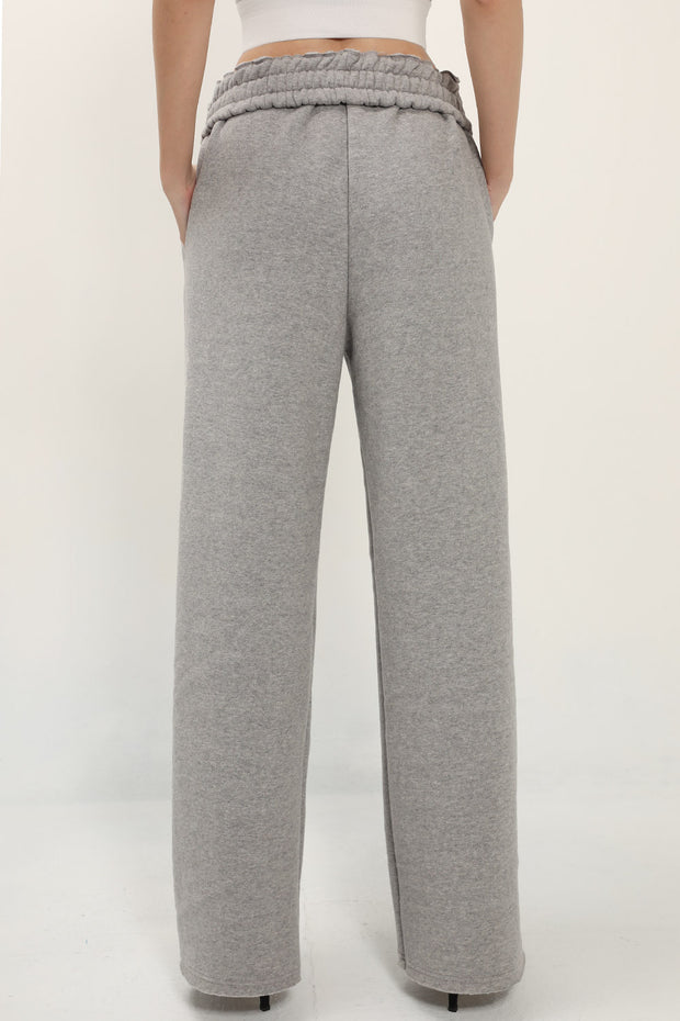 storets.com Leah Fold Over Waist Brushed Sweat Pants