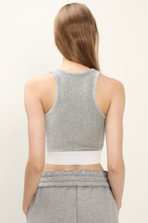 Destiny Cropped Tank Top