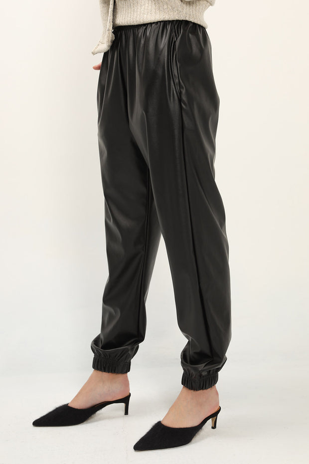 storets.com Zoey Pleather Joggers