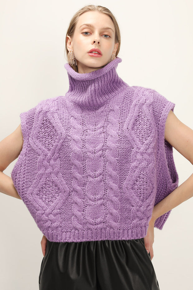 storets.com Reagan Cable Knit Sleeveless Top