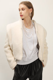 storets.com Phoebe Structured Teddy Jacket