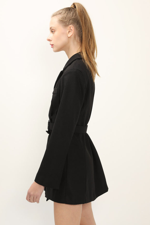 storets.com Evelynn Pleated Jacket Dress