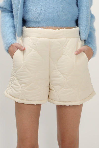 storets.com Melissa Padded Quilted Shorts