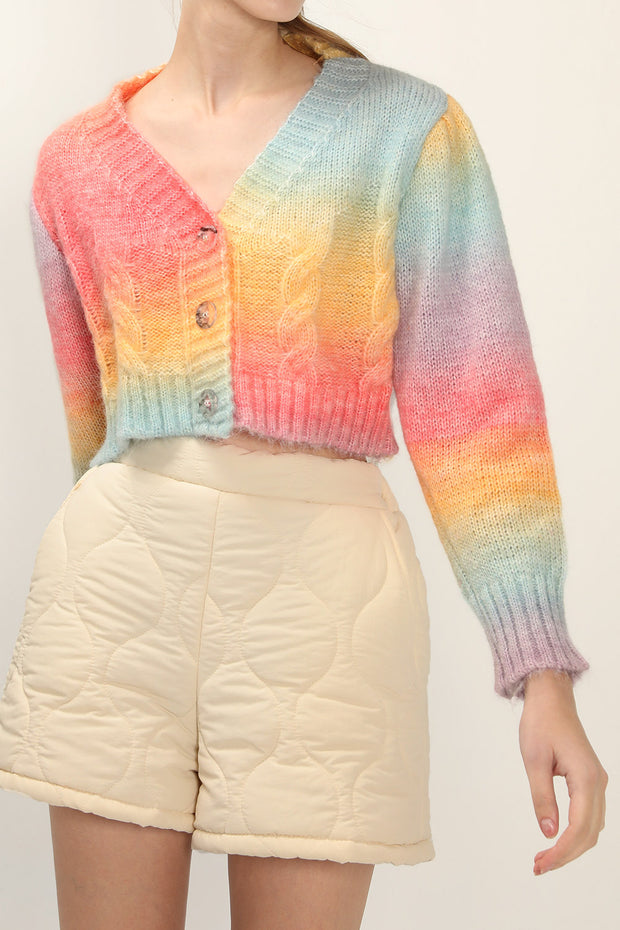 Haven Rainbow Cardigan