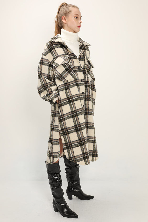 Lennon Oversized Plaid Shacket