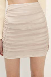 storets.com Luna Sheer Ruched Skirt