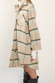 Alaya Oversized Plaid Shacket