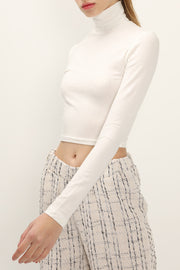 Hailey High Neck Cropped Top