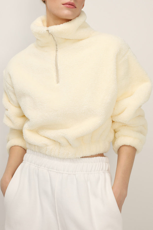 Brooklyn Fuzzy Cropped Anorak