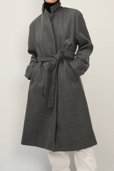 storets.com Catherine Belted Robe Coat