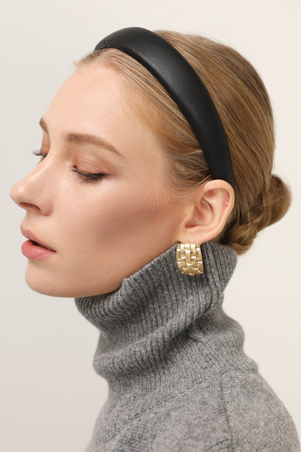 storets.com Faux Leather Padded Headband