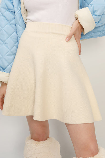 Ariana Flare Knit Skirt