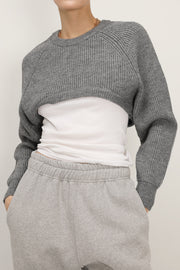 Arya Super Cropped Knit Top