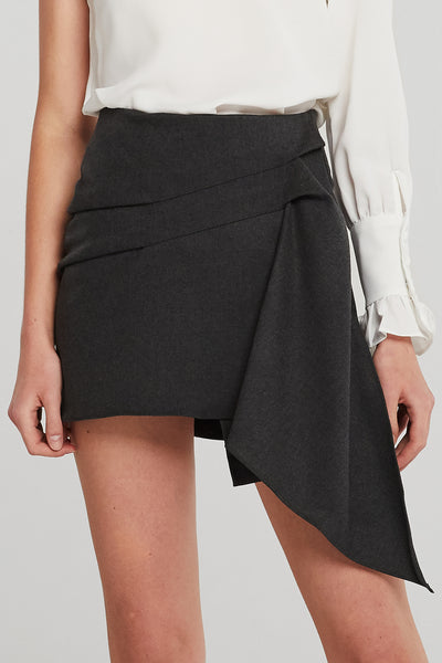 Molly Drape Mini Skirt