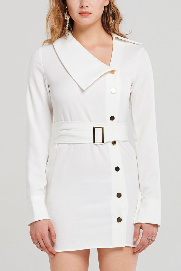 storets.com Elonia Side Collar Dress
