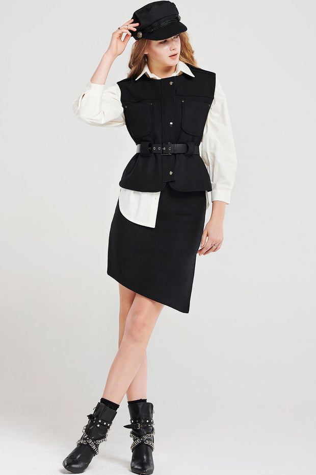 Violeta Pocket Vest-2 Colors