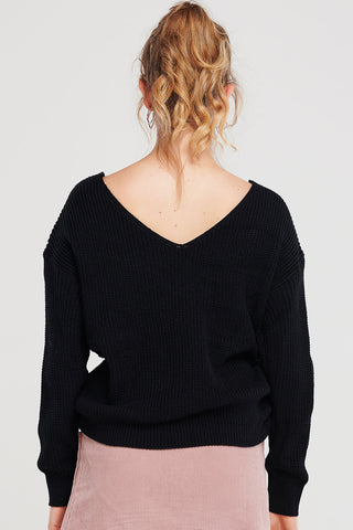 Cara Twisted Knit Top-2 Colors