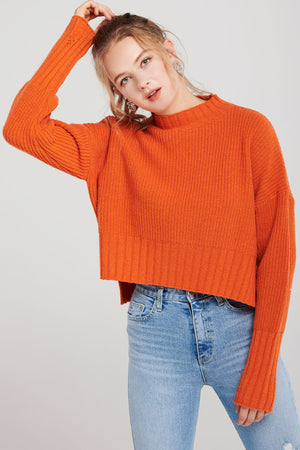 Aisha Cozy High Neck Sweater