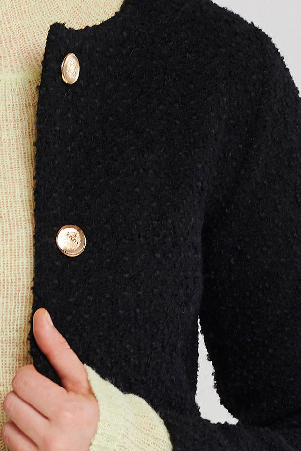 Fiora Short Tweed Jacket-2 Colors