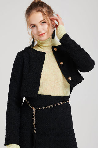 Fiora Short Tweed Jacket