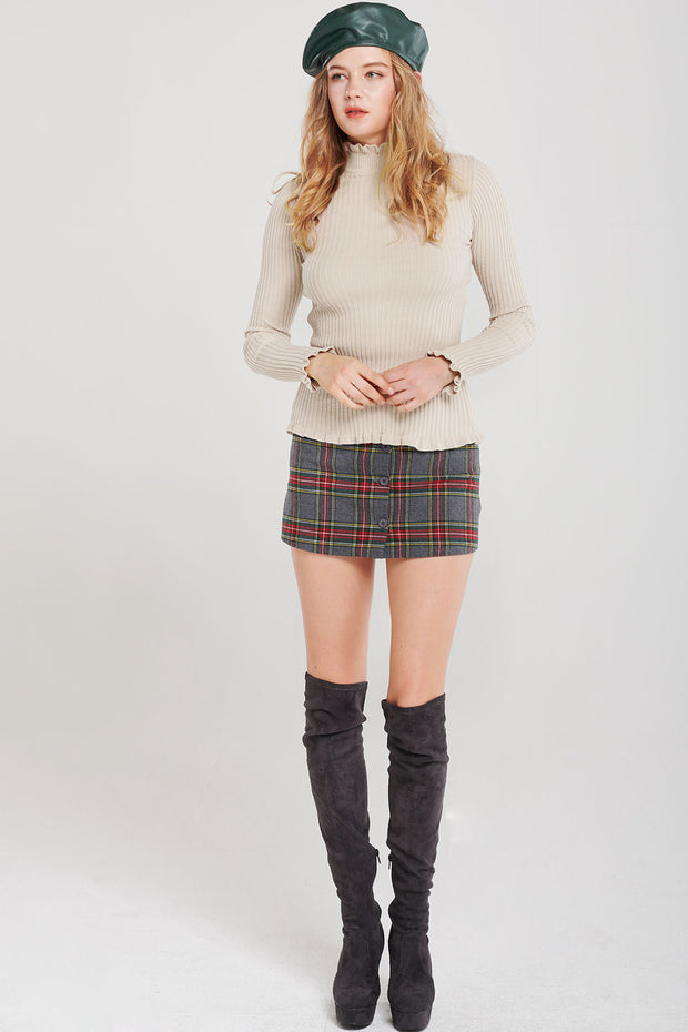 Alexandra Prep Plaid Skirt