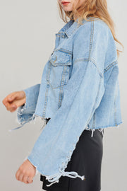 Alice Tattered Denim Jacket