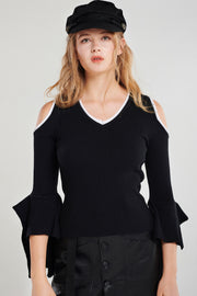 Juliet Coldshoulder Knit Top