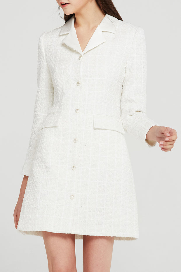Eden Tweed Blazer Dress