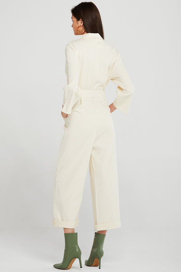 storets.com Jade Button Detail Jumpsuit