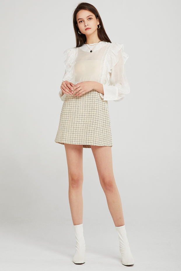 storets.com Vivian Tweed Shirt Dress
