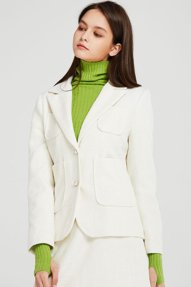 Harley Textured Suit Jacket