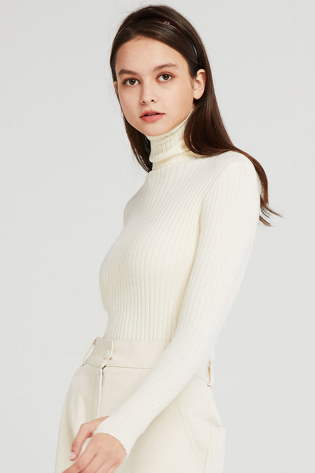 storets.com Ivy Fingerless Sleeve Knit Top