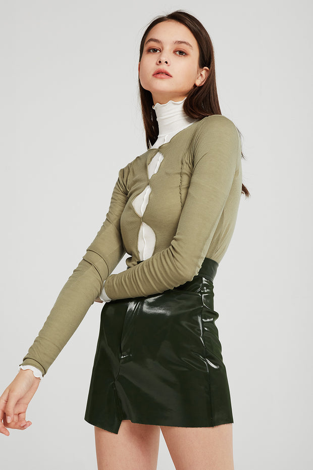 Jenna Cut-out Detail Top