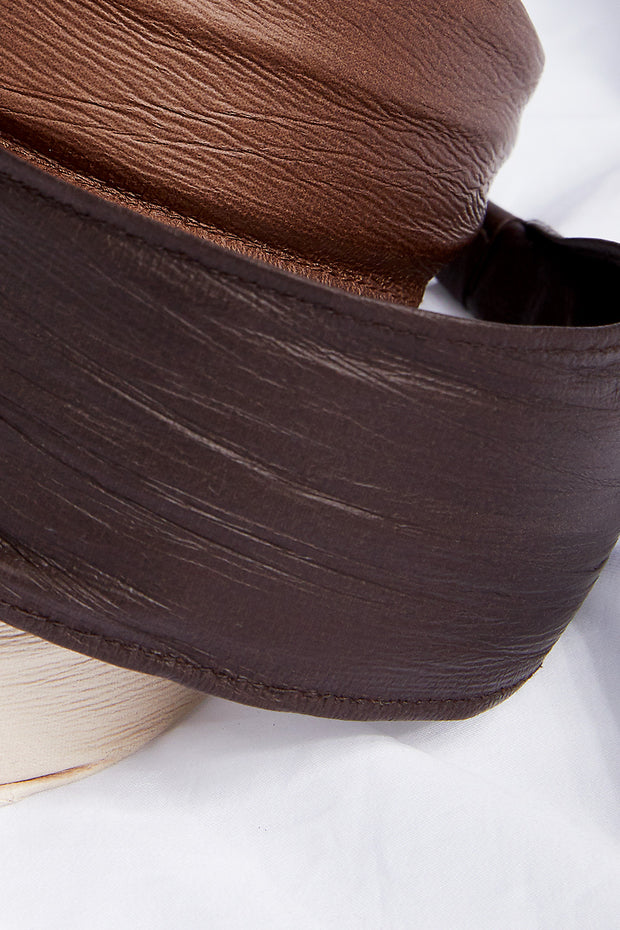 storets.com Wide Pleather Hair Band
