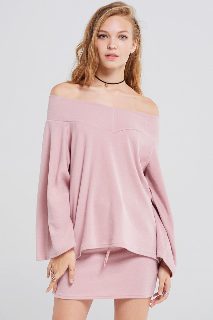 Roi Off Shoulder Top With Skirt