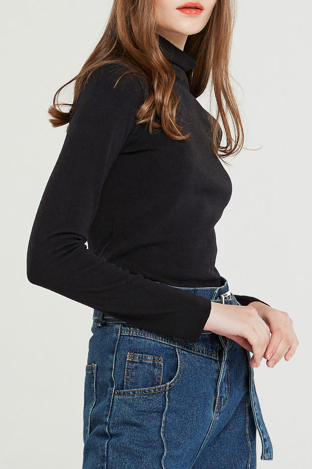 Jane Slim Turtleneck-3 Colors