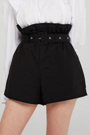 storets.com Grace Paperbag Waist Padded Shorts