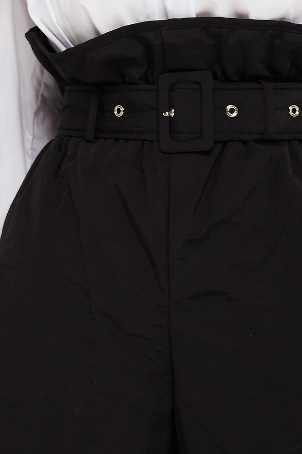 Grace Paperbag Waist Padded Shorts