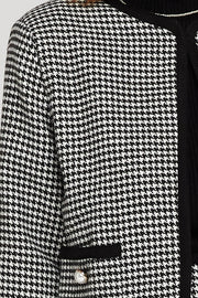 Abby Oversized Houndstooth Jacket
