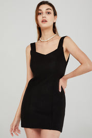 Zoey Bodycon Pinafore Dress