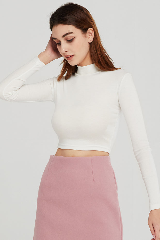 Alexis Fitted Crop Top