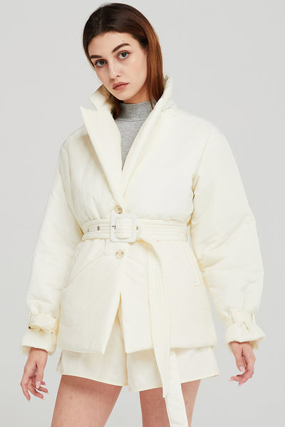 Grace Belted Padded Jacket