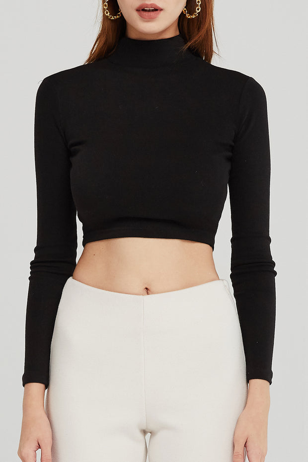 storets.com Alexis Fitted Crop Top