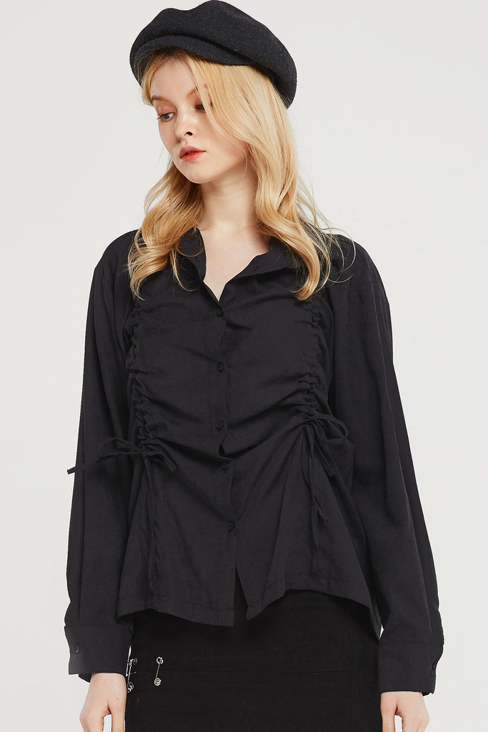 Deandra Shirred Blouse